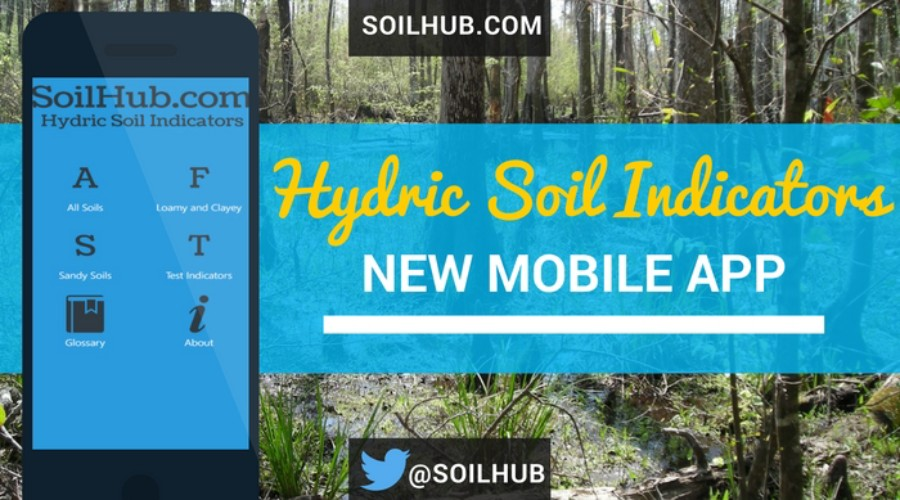 Free Hydric Soil Indicators Mobile App